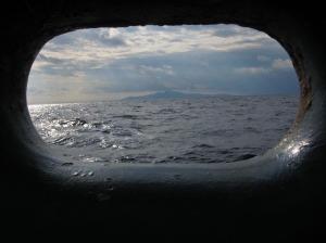 An island near Sicily